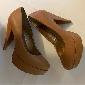 Forever 21 Carmel  5 inch platform shoes. Size 10